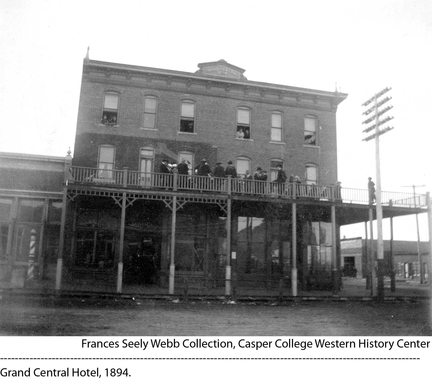 1894 Grand Central Hotel Downtown Development
