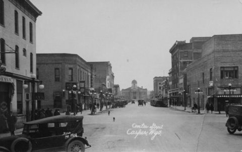 Center Street, Casper, Wyoming, 1922