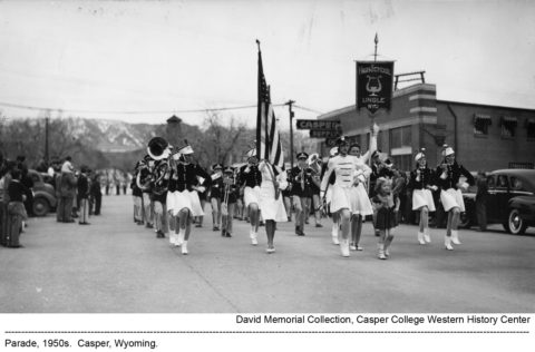 Parade 1950s, Casper, Wyoming.