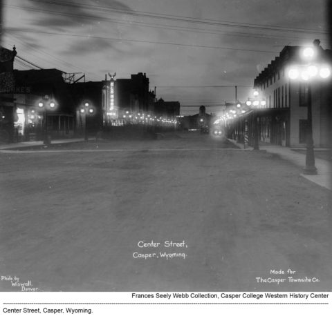 Center Street Lights, Casper, Wyoming.