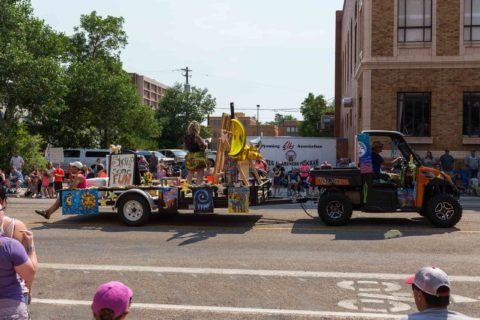 Parade Day 2017 Downtown Casper Wyoming