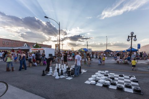 Rock the Block Giant Chess Board