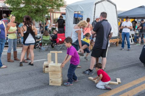 Rock the Block Giant Jenga