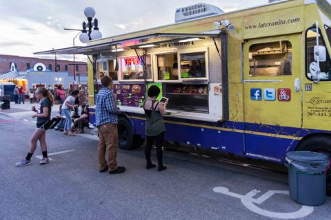 Taco Truck at Rock the Block